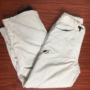 Light Grey Roxy X-Series Snowpants